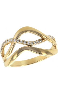 Open Wave Diamond Ring product image
